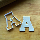 Varsity Letters A-Z Cookie Cutters/Set of 26/Dishwasher Safe