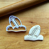 Football in the Grass Cookie Cutter
