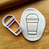 Iced Coffee Cookie Cutter