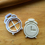 Alarm Clock Cookie Cutter/Dishwasher Safe - Sweet Prints Inc.