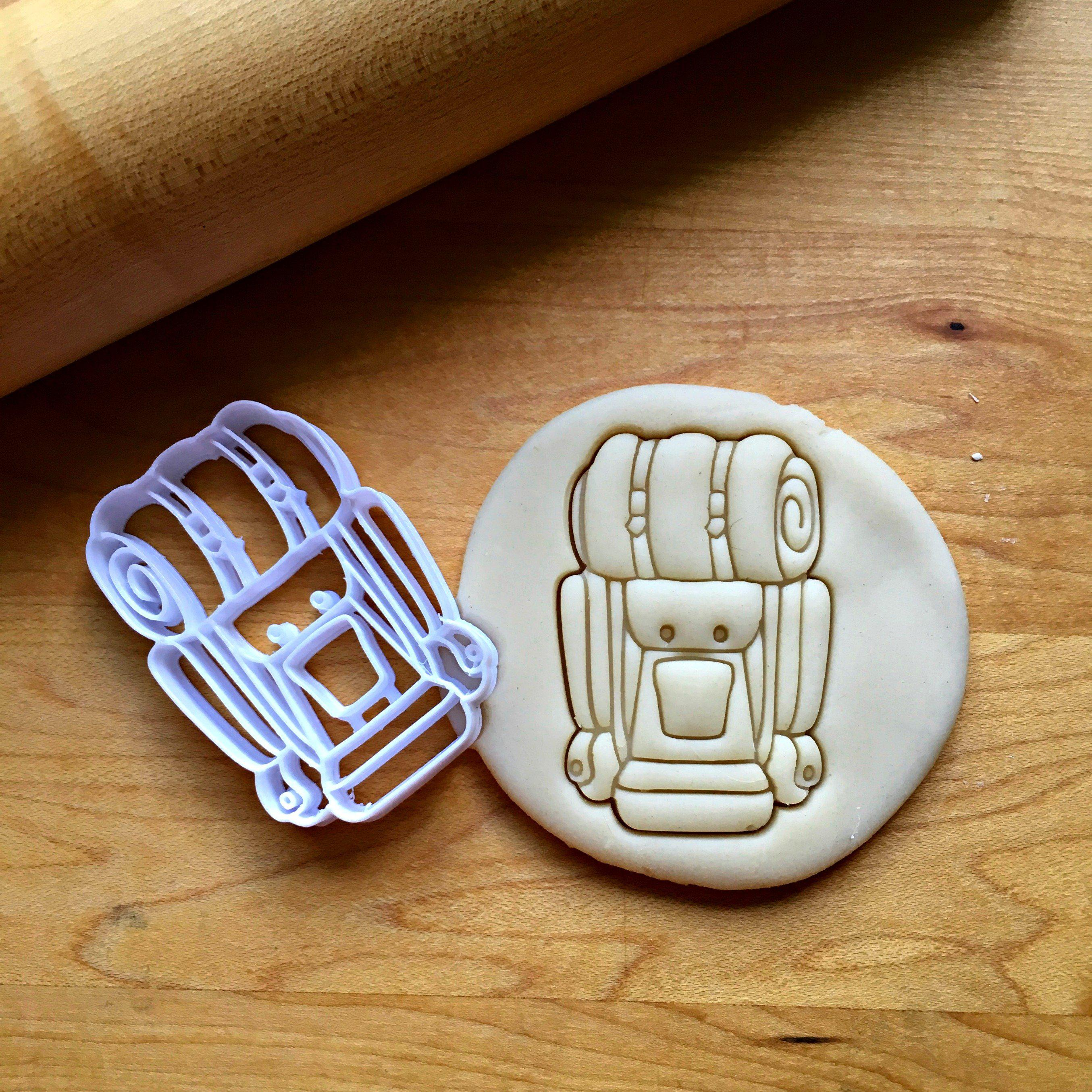 Backpack Cookie Cutter/Dishwasher Safe