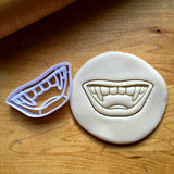 Vampire Teeth Cookie Cutter/Dishwasher Safe