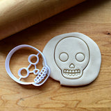 Sugar Skull Cookie Cutter/Dishwasher Safe
