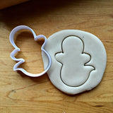 Ghost Cookie Cutter/Dishwasher Safe