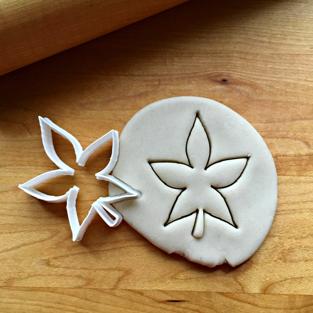Buckeye Leaf Cookie  Cutter/Dishwasher Safe