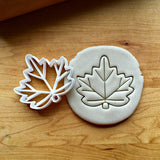 Maple Leaf Cookie  Cutter/Dishwasher Safe