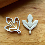 Sassafras Leaf Cookie  Cutter