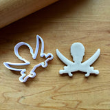 Set of 2 Jolly Roger Cookie Cutters