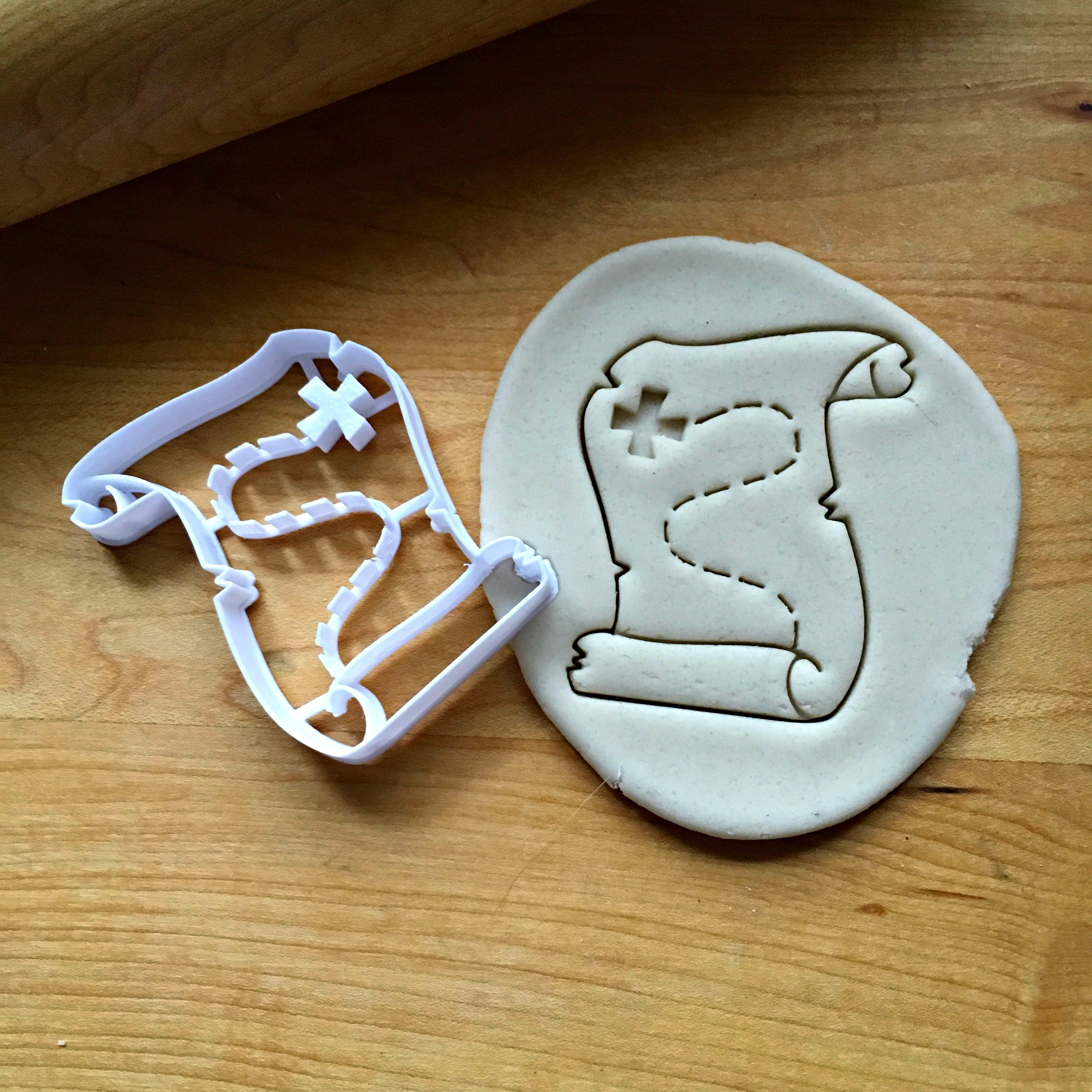 Treasure Map Cookie Cutter/Dishwasher Safe