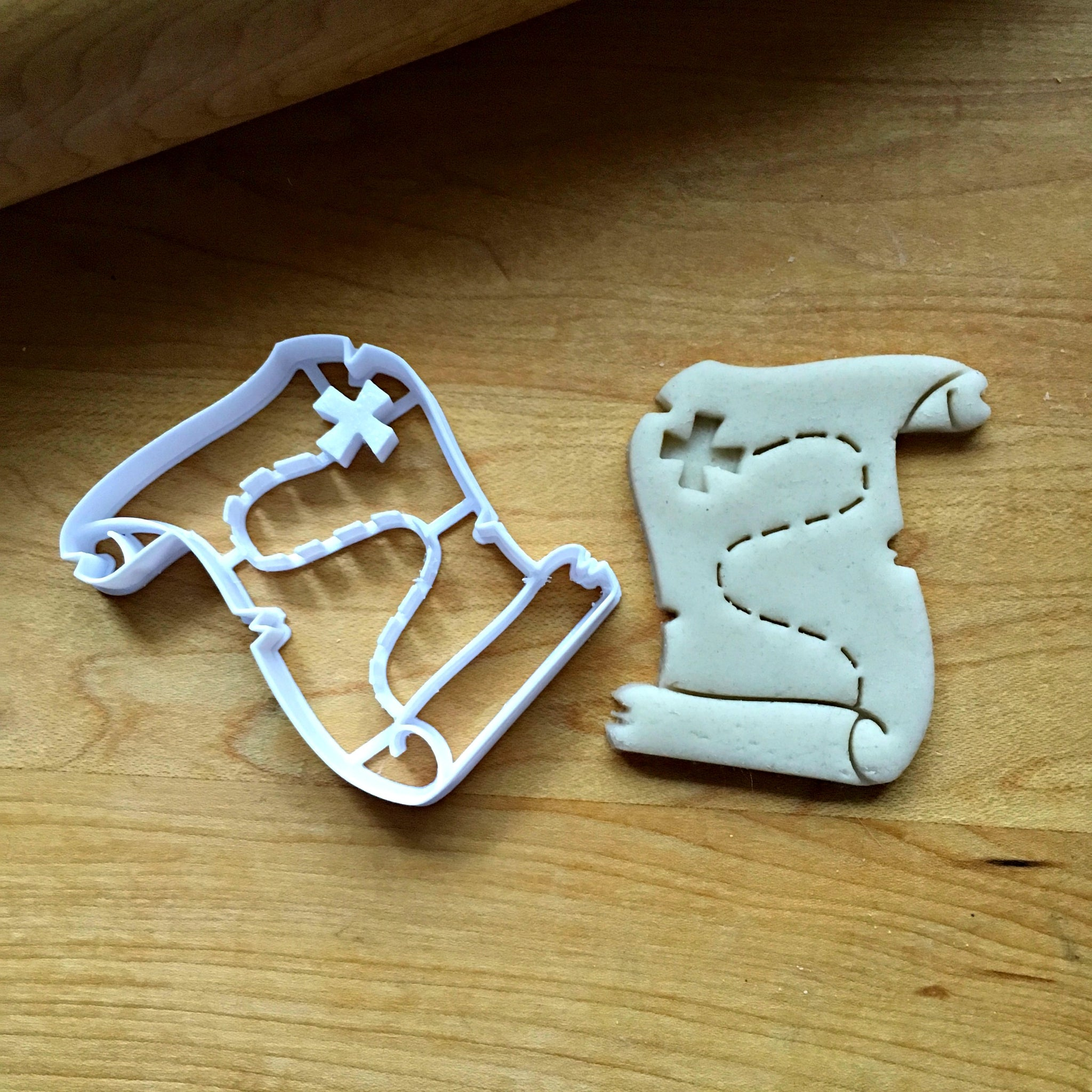 Treasure Map Cookie Cutter on