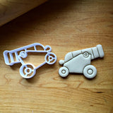 Pirate Cannon Cookie Cutter