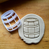Barrel Cookie Cutter/Dishwasher Safe