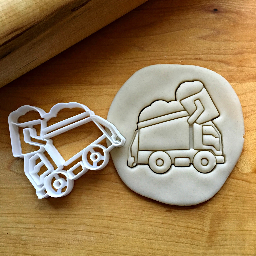 Garbage Truck Cookie Cutter