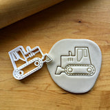 Bulldozer Cookie Cutter/Dishwasher Safe
