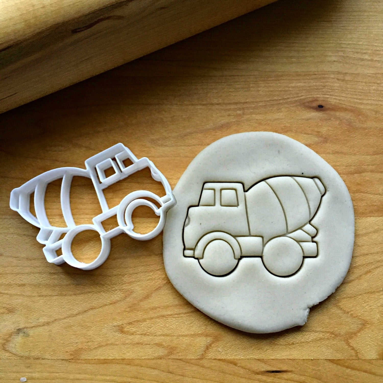 Cement Truck Cookie Cutter/Dishwasher Safe