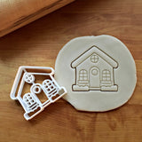 Cute House Cookie Cutter/Dishwasher Safe