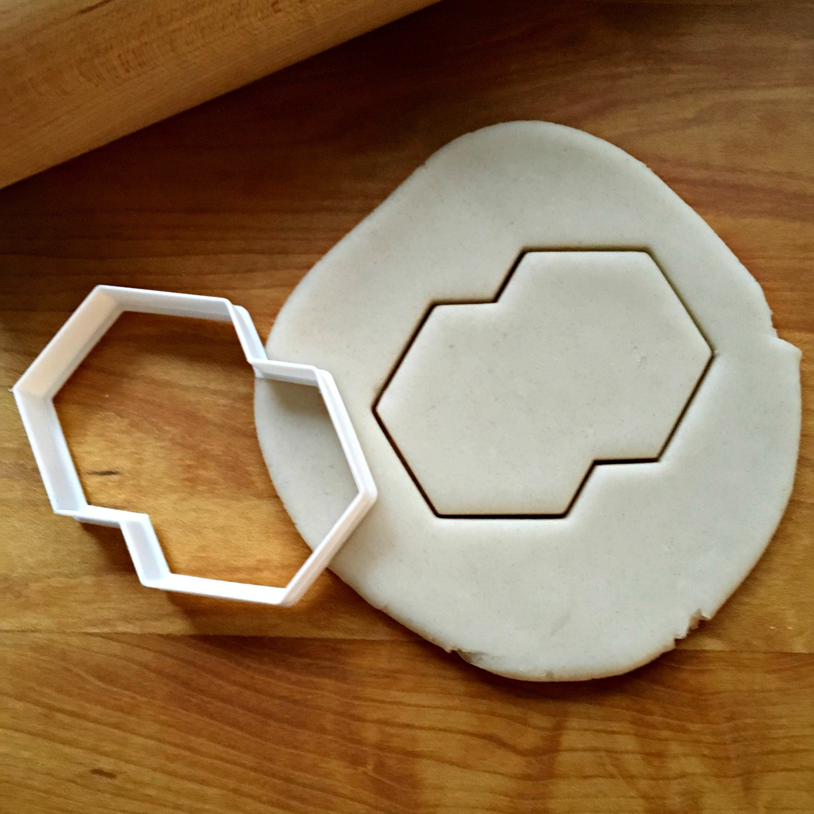 Double Hexagon Cookie Cutter/Dishwasher Safe