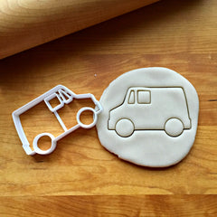 Delivery Truck Cookie Cutter
