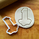 Bubble Number 1 Cookie Cutter/Dishwasher Safe