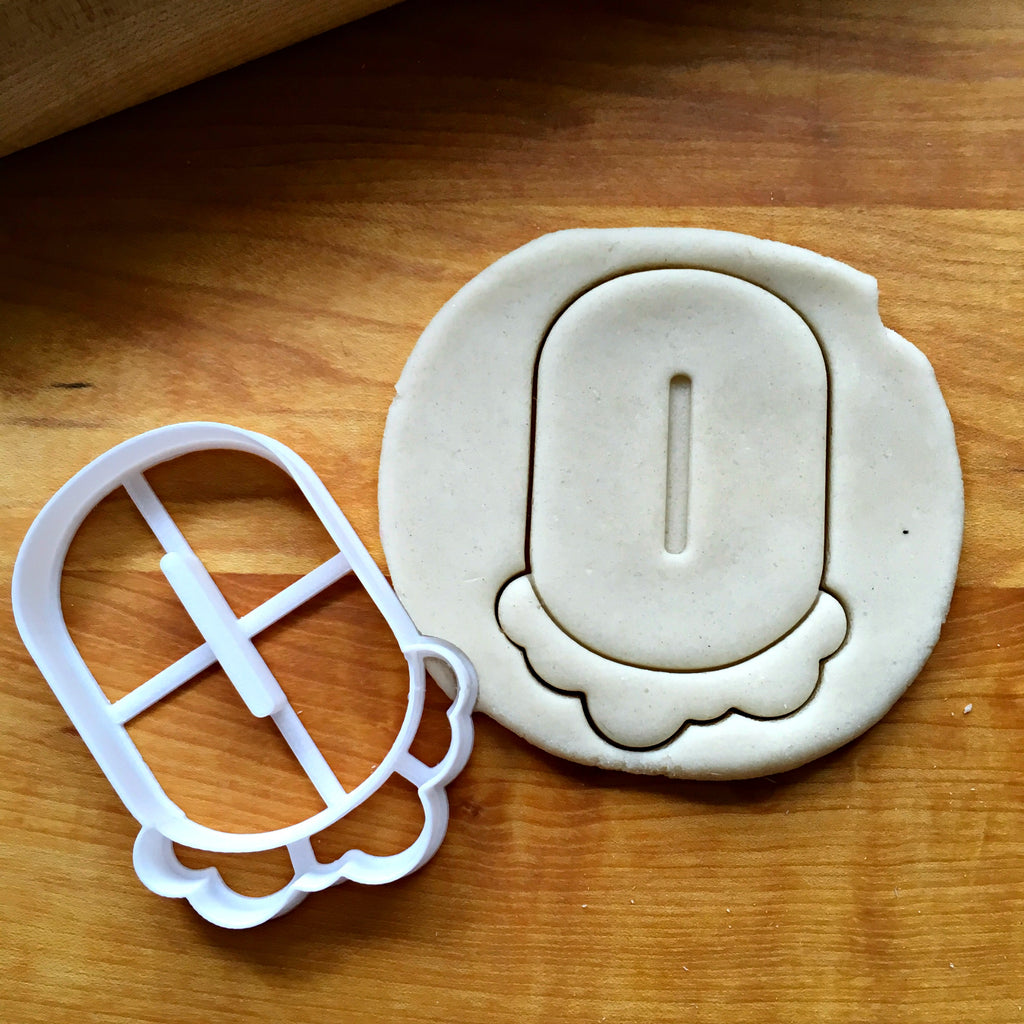 Bubble Number 0 Cookie Cutter/Dishwasher Safe