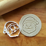 Santa Claus Cookie Cutter/Dishwasher Safe