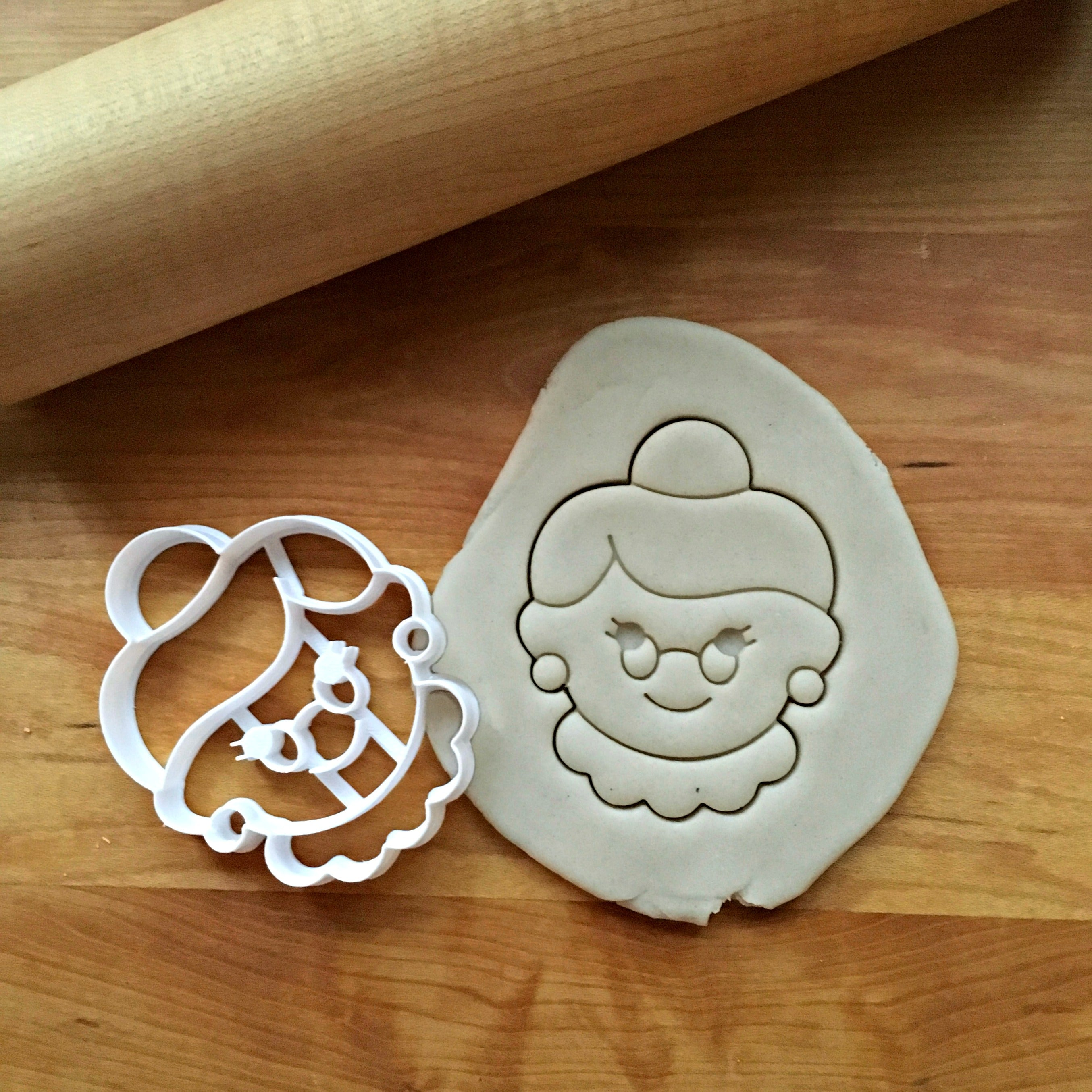 Mrs. Claus Cookie Cutter
