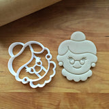 Mrs. Claus Cookie Cutter/Dishwasher Safe