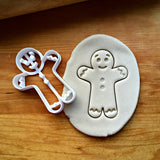 Gingerbread Boy Cookie Cutter/Dishwasher Safe