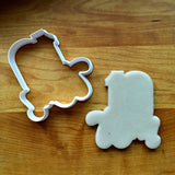 Lettered Number 10 Cookie Cutter