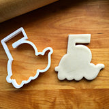 Lettered Number 5 Cookie Cutter/Dishwasher Safe