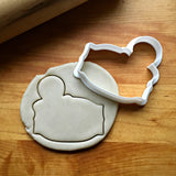 Gingerbread Plaque Cookie Cutter/Dishwasher Safe