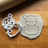 Elf Plaque Cookie Cutter