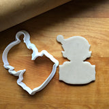 Elf Plaque Cookie Cutter/Dishwasher Safe
