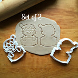 Set of 2 Elf Plaque Cookie Cutters