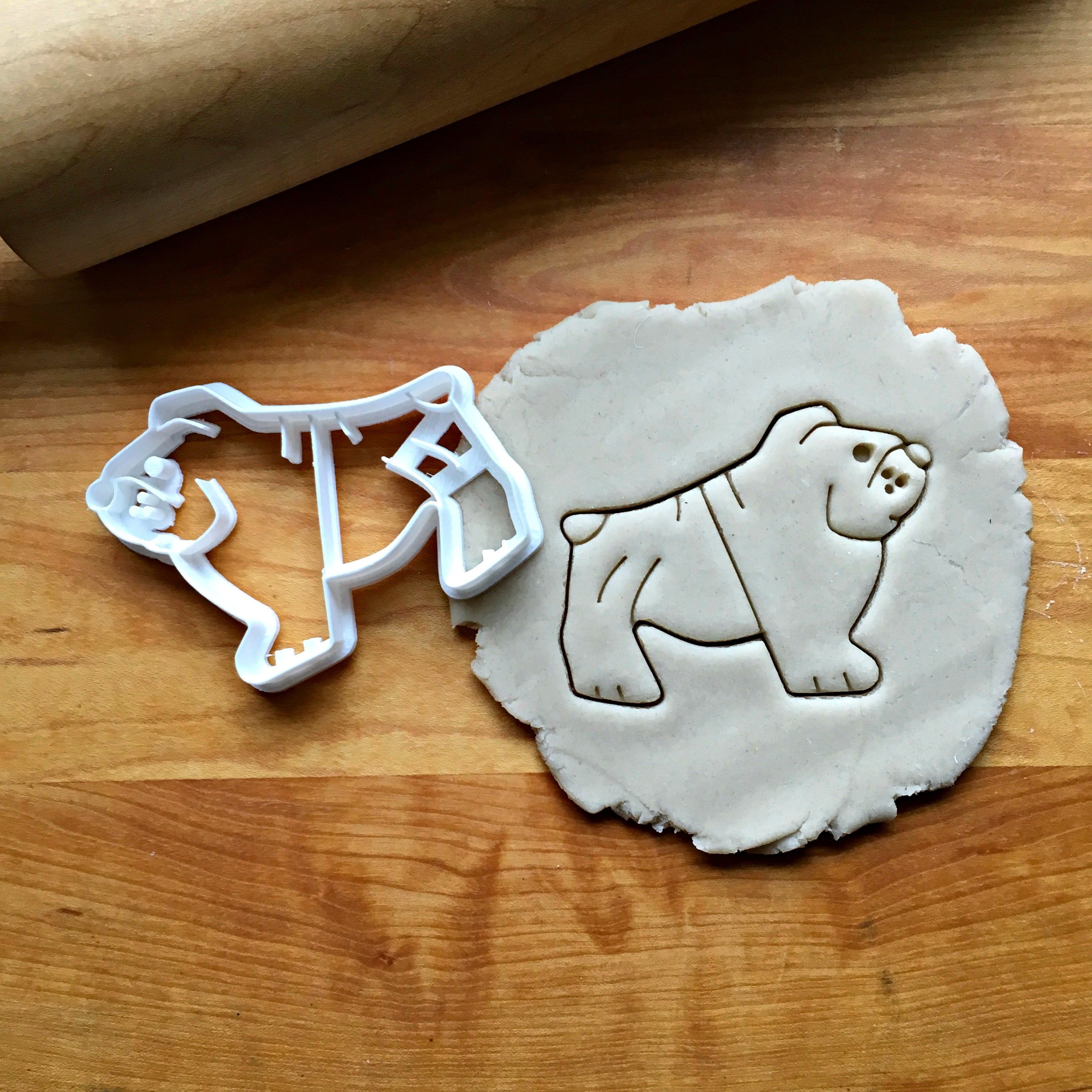 Bulldog Cookie Cutter/Dishwasher Safe