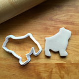 Bull Dog Cookie Cutter/Dishwasher Safe