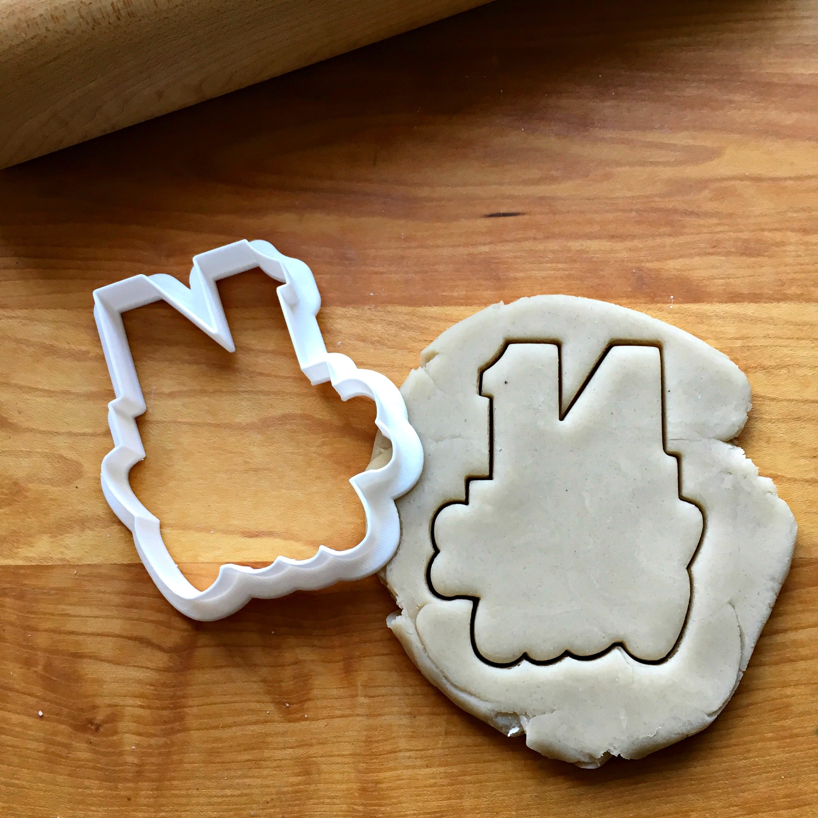 Lettered Number 14 Cookie Cutter/Dishwasher Safe
