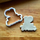Lettered Number 12 Cookie Cutter/Dishwasher Safe