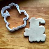 Lettered Number 16 Cookie Cutter/Dishwasher Safe