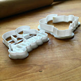 Set of 2 Lettered Number 20 Cookie Cutters/Dishwasher Safe