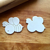 Set of 2 Bee Cookie Cutters/Dishwasher Safe