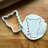 Horse Face Cookie Cutter/Dishwasher Safe