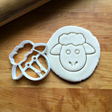 Sheep Face Cookie Cutter/Dishwasher Safe