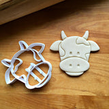 Cow Face Cookie Cutter/Dishwasher Safe