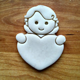 Cupid Heart Frame Cookie Cutter/Dishwasher Safe