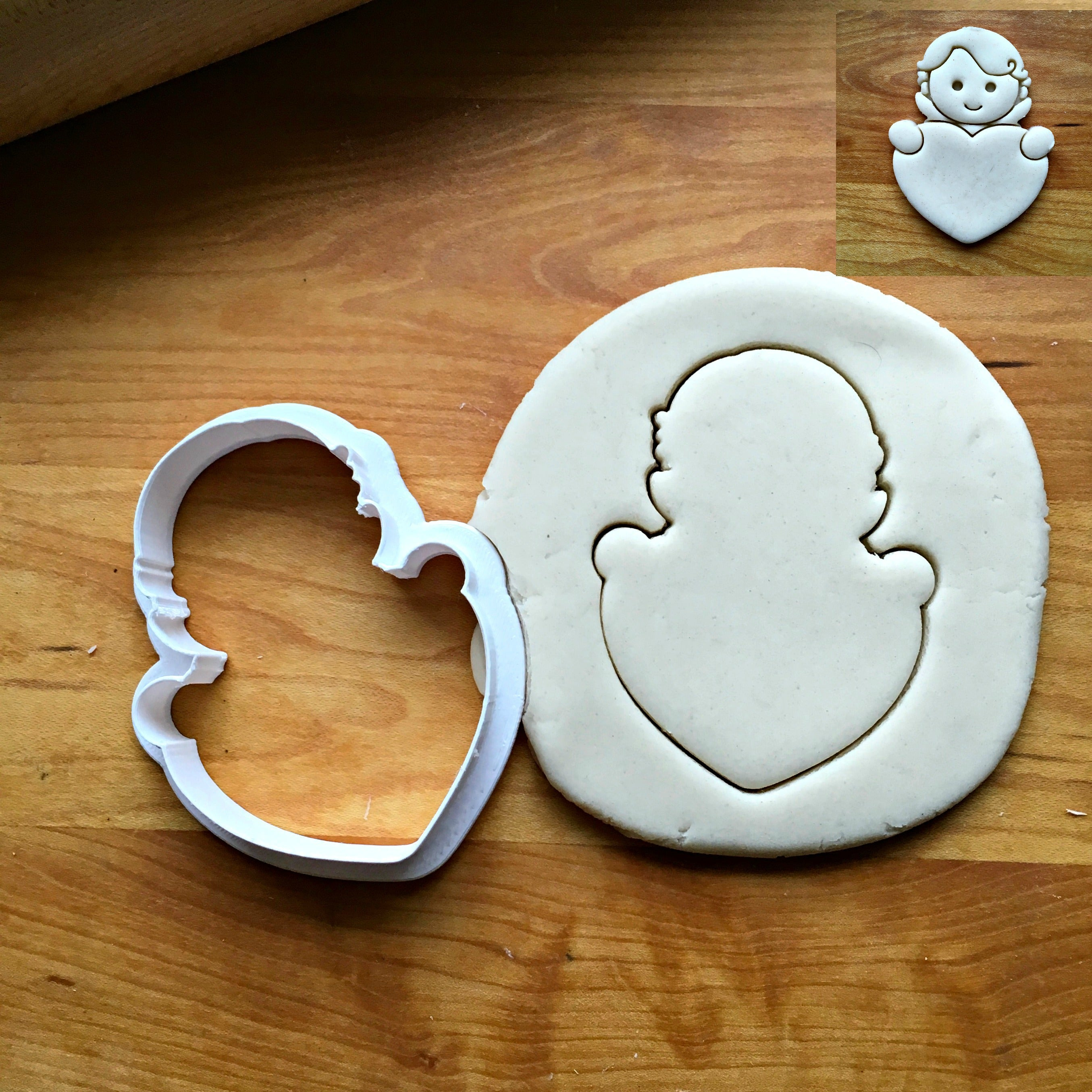 Cupid Frame Cookie Cutter/Dishwasher Safe