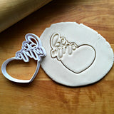 Be Mine Heart Frame Cookie Cutter/Dishwasher Safe