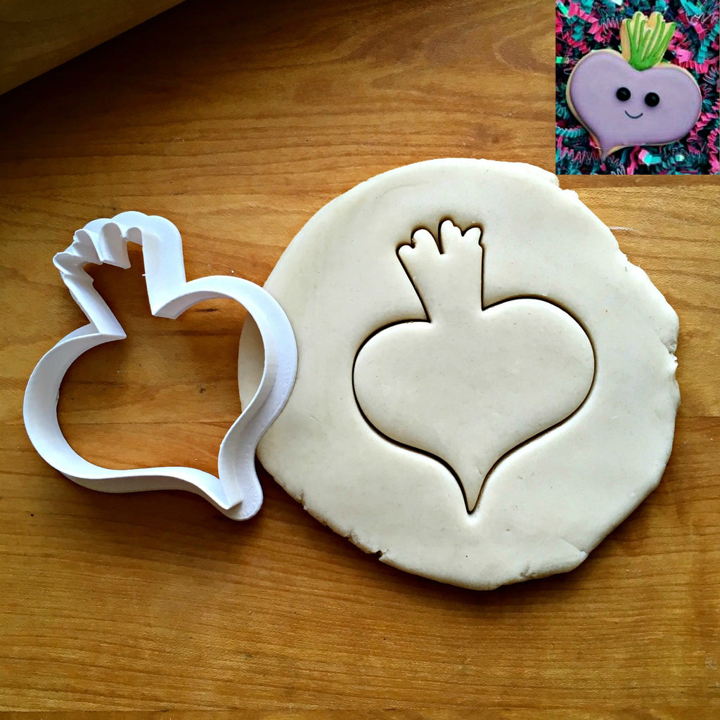 Beet Cookie Cutter/Dishwasher Safe