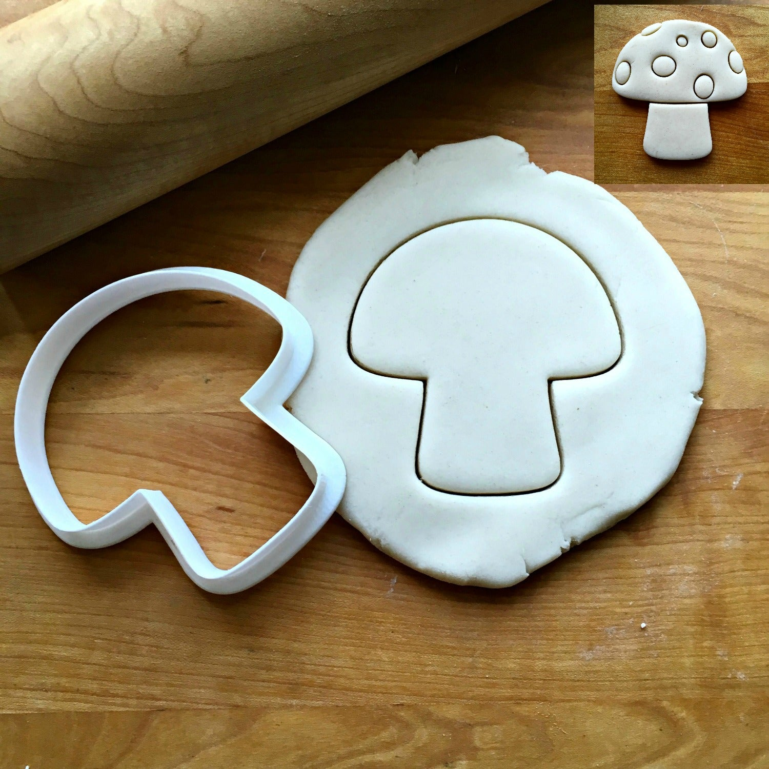 Mushroom Cookie Cutter/Dishwasher Safe