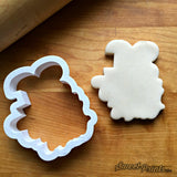 Lettered Number 33 Cookie Cutter/Dishwasher Safe